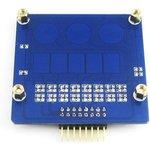 Фото 4/5 Capacitive Touch Keypad, Емкостная сенсорная клавиатура, 3 сенсорных клавиши и 1 линейный датчик касания