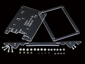 Фото 1/5 Clear Case for 5inch LCD Type B, Корпус для объединения 5inch HDMI LCD (B) и Raspberry Pi в законченное устройство