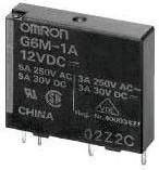 G6M1A12DC, Реле электромеханическое