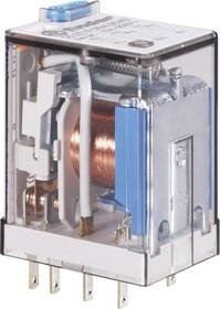 55.34.8.230.0040, Реле промежуточное 230VAC 4 пер. 7A/250VAC