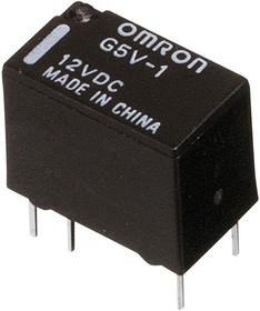 G5V1 12DC, Реле 12VDC 2 пер. 0,5A/125VAC