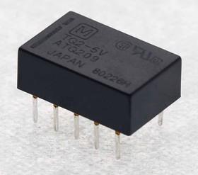 TQ2-5V, Реле 5VDC 2 пер. 0,5A/125VAC