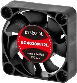 EC4010H12BP, Вентилятор 12В, подш. качения, 40х40х10мм, 5500 об/мин, кабель 3-- 4pin (PWM)