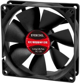 EC9225M12SP, Вентилятор 12В, подш. скольжения, 92х92х25мм, 2200 об/мин, кабель 3-- 4pin (PWM)