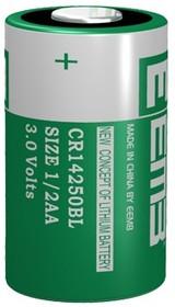 CR14250BL 1/2AA(А316/LR06), Элемент питания литиевый 900 mAh, 14.5х25(1шт) 3В
