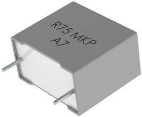 Фото 1/2 R75QD0470Z330J, DC Пленочный Конденсатор, импульсный, 470 пФ, 1 кВ, Metallized PP, ± 5%, серия R75
