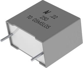 R60PF2220506AJ, DC Пленочный Конденсатор, 22000 пФ, 630 В, Metallized PET Stacked, ± 5%, серия R60
