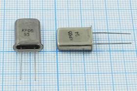Фото 1/4 кварцевый резонатор 26.480МГц в корпусе с гибкими выводами HC43U=HC49U, 3-ья гармоника, 26480 \HC43U\S\\\КР05МД\3Г