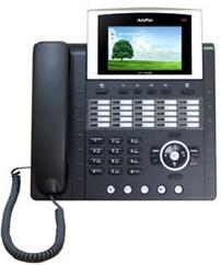 """ADD-AP-IP300, IP300 IP-телефон (H.323, SIP), 2x10/100 Mbps, быстрый набор, цветной LCD-дисплей 4,3""""*"""