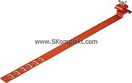 GL-11568A, GALMAR Зажим на кровлю универсальныи для токоотвода (высота до 15 мм; оцинк. сталь с покраской)