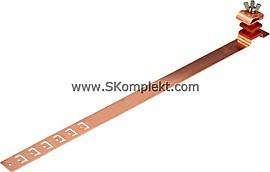 GL-11571M, GALMAR Зажим на кровлю универсальныи для токоотвода (высота до 30 мм; медь)