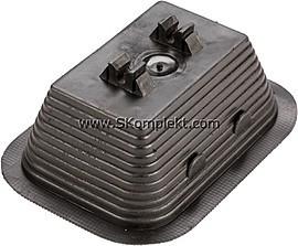GL-11711, GALMAR Зажим на плоскую крышу для токоотвода (D8 мм; пластик, бетон)
