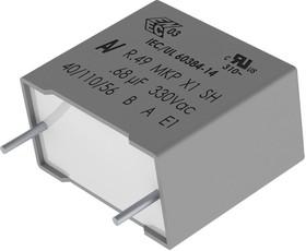 R49AR368000A1K, Конденсатор Безопасности, 0.68 мкФ, X1, R49 Series, 330 В, Metallized PP