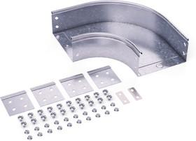 Угол CPO 90 горизонтальный 90 градусов 400х50 в комплекте с крепежными элементами и соединительными пластинами