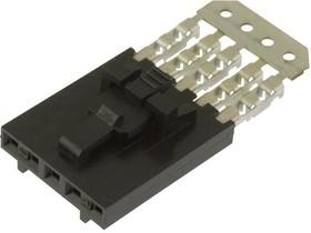 14-56-2032, Разъем типа провод-плата, 2.54 мм, 3 контакт(-ов), Гнездо, SL 70400 Series, IDC / IDT, 1 ряд(-ов)