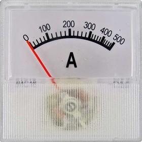 Амперметр 500А (40х40)