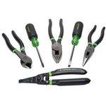 GT-31400, Greenlee набор инструмента 6 предметов