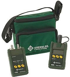 GT-5670-ST, Greenlee 5670-ST - набор для тестирования ВОЛС(MM) c ST адаптерами