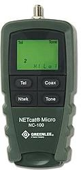 GT-NETcat Micro, Кабельный тестер NETcat Micro