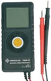 GT-PDMM-20, Карманный цифровой мультиметр Greenlee PDMM-20