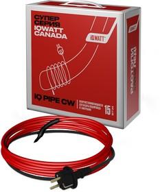 Греющий кабель на трубу IQ PIPE CW 22m