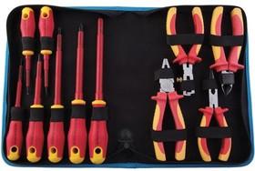 JIC-TK-110INS, Набор из 11 инструментов Jonard TK-110INS до 1000В
