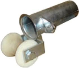 KM-103322, Katimex защитный кабельный ввод с роликом для крепления на трубе DN 150 (длина 140-165mm)