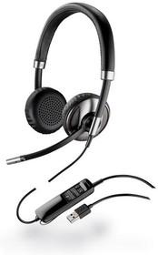 PL-C720M, BlackWire C720M (PL-С720M), проводная/Bluetooth гарнитура,USB, MOC, Lync