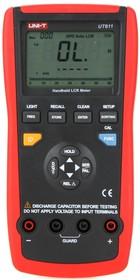 Фото 1/2 UT611, Измеритель RLC цифровой с автоматическим выбором диапазона, порт USB