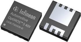 IPZ40N04S5L4R8ATMA1, МОП-транзистор, N Канал, 40 А, 40 В, 0.0039 Ом, 10 В, 1.6 В
