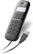 PL-P240M/Stand, Calisto P240M, телефонная USB трубка в комплекте с подставкой, MOC, Lync