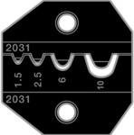 PT-2031, Матрица для 1300/8000 неизолированные вилочные и кольцевые 22-8AWG