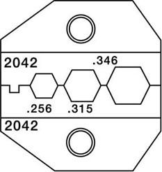 PT-2042, Матрица для 1300/8000 RG59 RG6