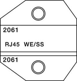 PT-2061, Матрица для 1300/8000 RJ45