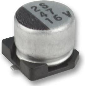 MCESL100V106M6.3X7.7, SMD электролитический конденсатор, Radial Can - SMD, 10 мкФ, 100 В, Серия MCESL
