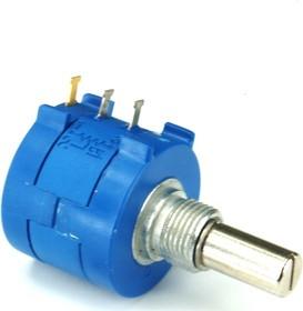3590S-2-202L, 2 кОм, Резистор прецизионный многооборотный без крепежа