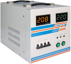 Фото 1/9 Стабилизатор напряжения Энергия АСН 20000