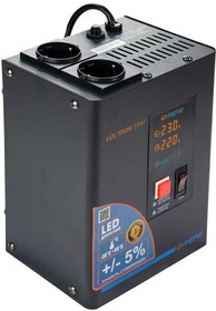 Фото 1/9 Стабилизатор напряжения Энергия Voltron 1500 с повышенной точностью