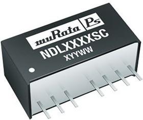 Фото 1/3 NDL4805SC, Module DC-DC 48VIN 1-OUT 5V 0.4A 2W 7-Pin SIP Module