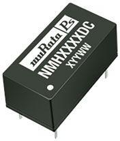 NMH0512DC, Module DC-DC 5VIN 2-OUT 12V/-12V 0.083A/-0.083A 2W 6-Pin PDIP Tube