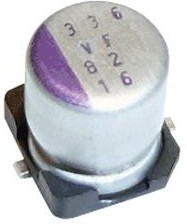 20SVF56M, Polymer Aluminium Electrolytic Capacitor, 56 мкФ, 20 В, Radial Can - SMD, OS-CON SVF Series