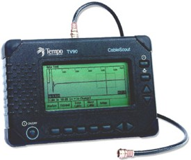 TR-TV-90 , Рефлектометр CableScout TV 90