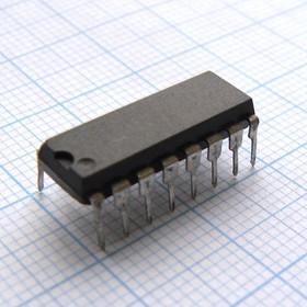 ЭКР1554ИЕ18, (IN74AC163N) (90-97г), Четырехразрядный синхронный двоичный счетчик с синхронной загрузкой