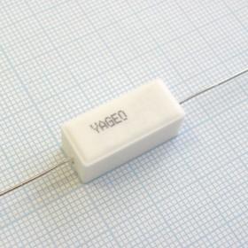 SQP 5 Вт 0.43 Ом, 5%, Резистор проволочный мощный (цементный)