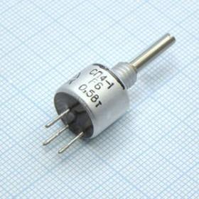 СП4-1а, 0.5 Вт, 6.8 кОм, А 2-12, 10-20%, Резистор переменный