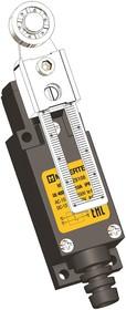 MTB4-LZ8108 (AE-8108), Выключатель концевой, 6 A NO+NC, IP65, ролик поворотный регулируемый
