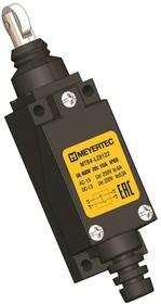 MTB4-LZ8122, Выключатель концевой, 6 A NO+NC, IP65, ролик вертикальный нажимной
