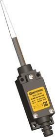 MTB4-LZ8166 (AE-8166), Выключатель концевой, 6 A NO+NC, IP65, пружинный с диэлектриком на отклонение