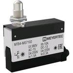 MTB4-MS7102, Выключатель концевой, 10A, IP54, плунжер