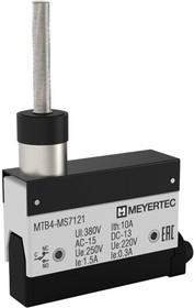 MTB4-MS7121, Выключатель концевой, 10A, IP54, стержень с диэлектриком